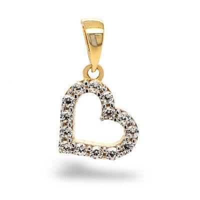Pargold 585er Gelbgold Herz Anhänger 14 Karat Gold Herz Anhänger DAMEN KINDER