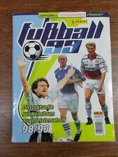 ALBUM FOOTBALL PANINI DEUTSCHLAND GERMANY BUNDESLIGA FUSSBALL 1999 99