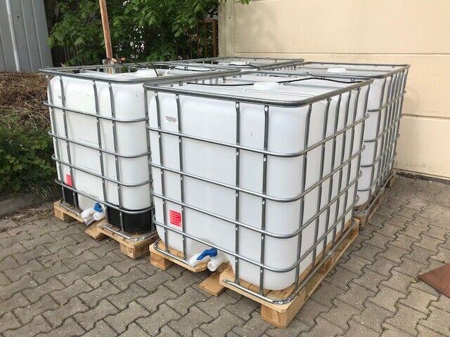 1000l IBC Container Wassertank, Regenwassertank, Wasserspeicher, Tank,Fass,Tonne