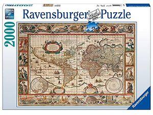 Ravensburger 16633 puzzle mapamundi ao 1650 worldmap 2000 piezas la imagen se est cargando ravensburger 16633 puzzle mapamundi ano 1650 worldmap 2000 gumiabroncs Images