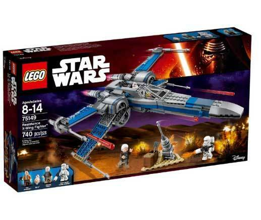 Resistencia De Lego Star Wars X-Wing Fighter 75149 Starcraft vuelo 8-14 Olds