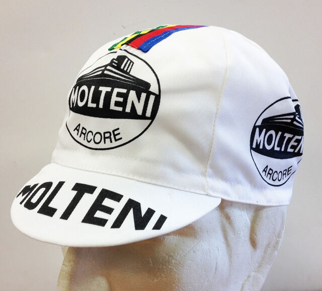 Molteni Cycling Cap - Made in Italy by Apis