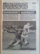 FUWO 12- 24.3. 1987 3* Richter Balet EC FC Sion-Lok Leipzig 0:0 Nandor Hidegkuti