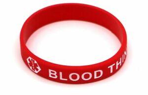 Blood Thinner Medical Alert Bracelet