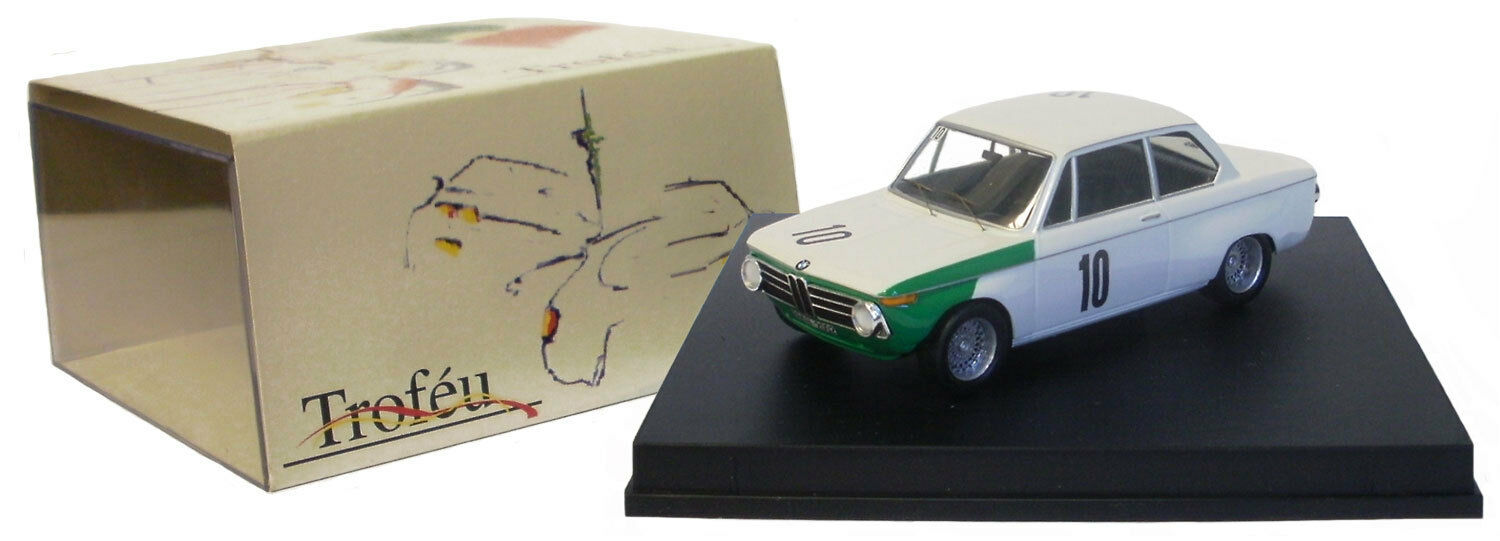 Trofeu 1707 BMW 2002 Winner Nurburgring DRM 1968 - Quester Hahne 1 43 Scale