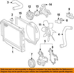 toyota oem engine cooling radiator fan clutch 1621038071 ebay Car Cooling System image is loading toyota oem engine cooling radiator fan clutch 1621038071