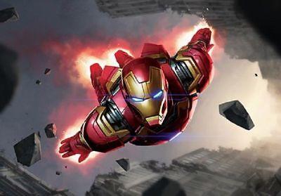 1000 Piece Jigsaw Puzzle Marvel Iron Man Future Fight Bromide Decoration/_Nk