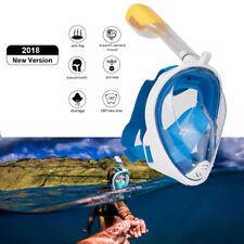 180° Schnorchelmaske Tauchmaske Schnorchelset Vollmaske Taucherbrille Für GoPro