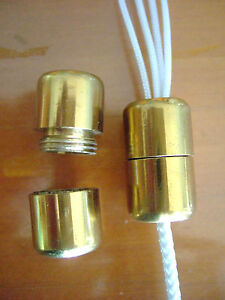 Roman And Venetian Blinds Brass Cord Connector Joiner