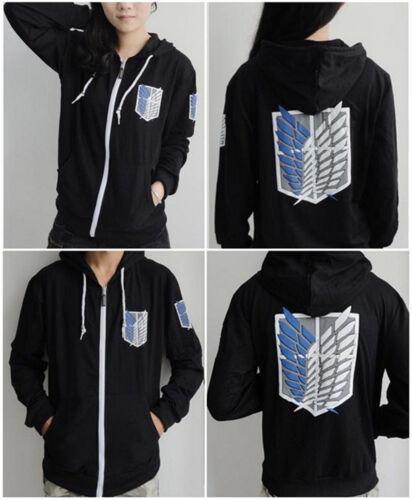 Attack On Titan Jacket Survey Legion Hoodie Sweatshirt Cosplay Costume Women Men