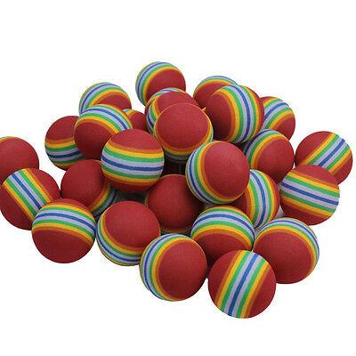 20x Sponge Golfball Training Soft Ball Übungsbälle Φ 4cm DE Neu