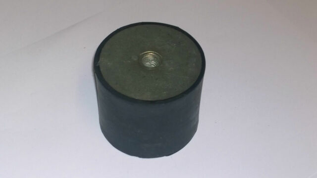 M10 Male Female End Rubber Vibration Isolator Mount 50mm x 40mm