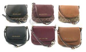 Michael-Kors-Bedford-Leather-Small-Flap-Crossbody-Bag-Handbag