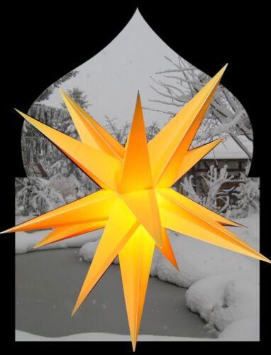 60 65 cm 3d Faltstern extérieur étoile extérieur étoile de Noël étoile Advent étoile Pa