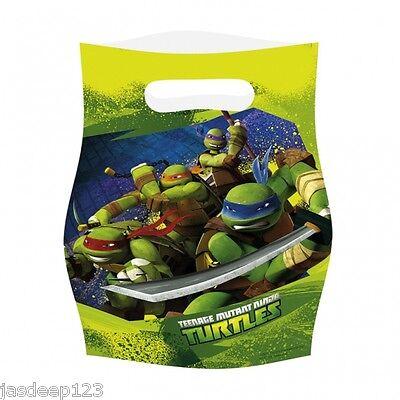 Teenage Mutant Ninja Turtles TMNT Party Bags Kids Boy Birthday Fillers