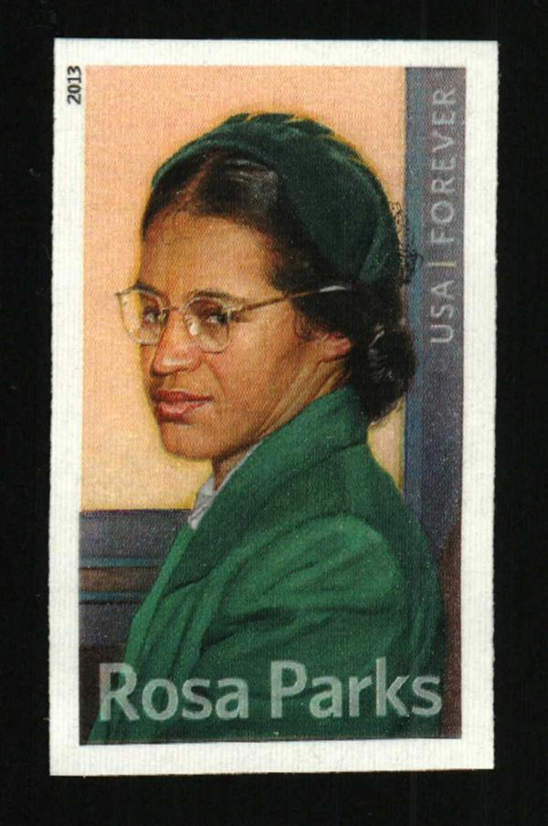 2013 46c Rosa Louise McCauley Parks Civil Rights Imperf