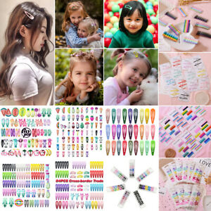 Style-Snap-Hair-Clip-Hairpin-Barrette-Headwear-Accessory-For-Baby-Girls-Children