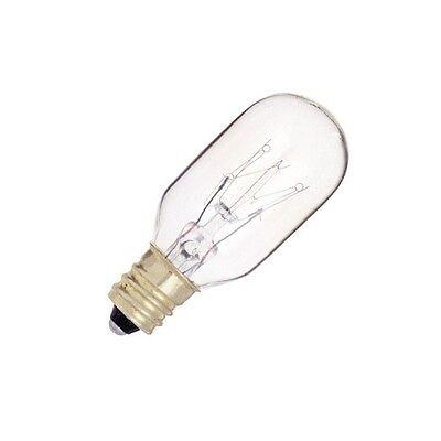 Clear Satco Products Satco S3823 120V Candelabra Base 40-Watt G16.5 Light Bulb