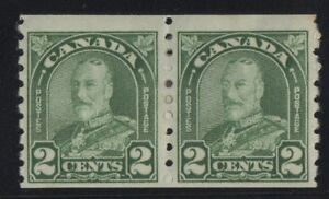 MOTON114-180ii-second-stamp-Cockeyed-King-Canada-mint-RARE