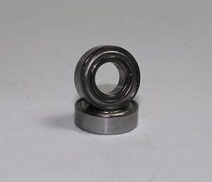 Motor stainless steel ceramic bearings traxxas emaxx 2826 for Brushless motor ceramic bearings