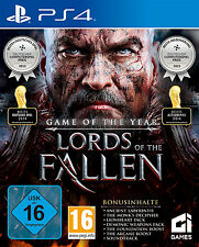 Lords of the trampas Game of the Year + CD + banda sonora usada ps4-juego #2000