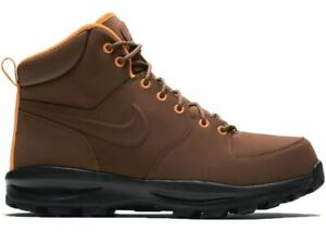 NEW-Nike-Manoa-Leather-Sz-9-5-10-Athletic-Boots-Fauna-Brown-454350-203-w-Box