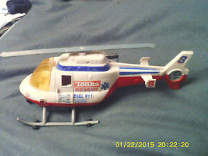 VINTAGE-TONKA-HASBRO-RESCUE-HELICOPTER-SOUND-LIGHT-WINCH-FREE-DELIVERY