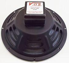 "VOR 10"" Alnico Magnet 25 watt Guitar Speaker - Jensen P10R Upgrade - 8 ohm"