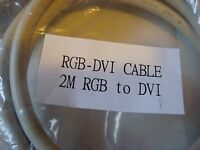 6' Svga Db15hd Male To Dvi-a Male Cable With Ferrite 17668