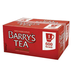 Barry's Tea GOLD BLEND 1-Cup Tea Bags (Box of 600)  - SOLD BY DSDELTA IRELAND