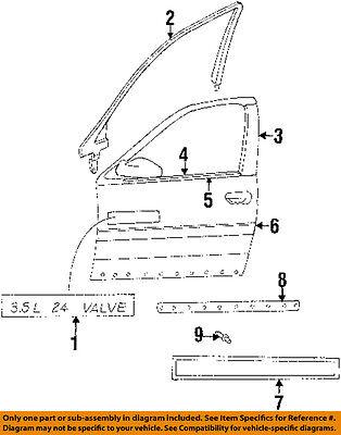 CHRYSLER OEM-Door Moulding-Belt Molding Right 4756570