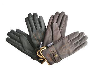 Mark Todd Hiver Gants d'équitation, Noir ou marron, toutes les tailles, en cuir avec Thinsulate