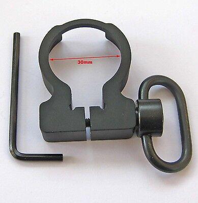 QD Sling Swivel Clamp-on Single Point Sling buffer tube Adapter for Rifle #08