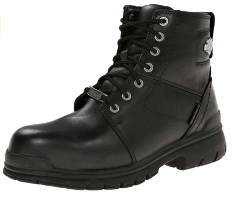 Harley-Davidson® Men's Waterproof Composite Toe Gage Safety Leather Boots D93198