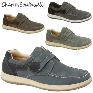 MENS-GENTS-TOUCH-STRAP-CASUAL-ON-JEAN-EASY-WEAR-WORK-DRIVING-SHOES-SIZES-UK-7-12