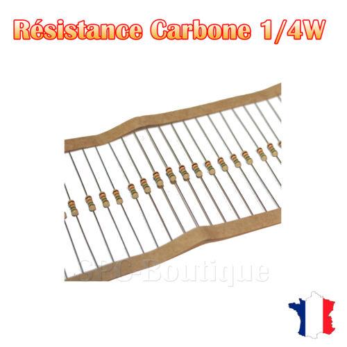 250 mw Carbon resistor 1.1m ohms 1//4w +//5/%