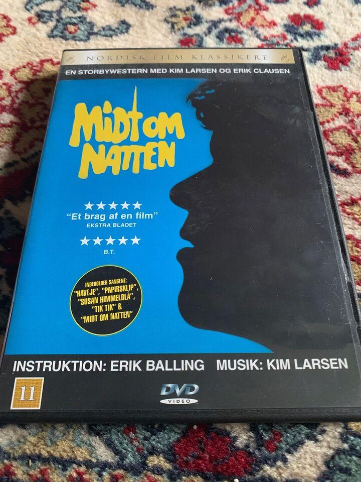 Midt om natten, instruktør Erik Balling, DVD