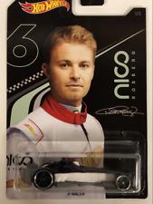 Hot Wheels ggc34-37 winning formula turquesa-designed by Nico Rosberg 1:64 nuevo °