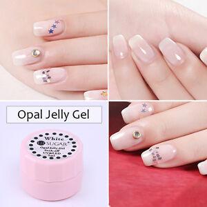 5ml-Opal-Jelly-Gel-Soak-Off-UV-Gel-Nail-Polish-Semi-transparent-White-Varnish