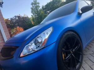 COMING SOON: 3M Satin Perfect Blue Infiniti G37 AWD Sedan