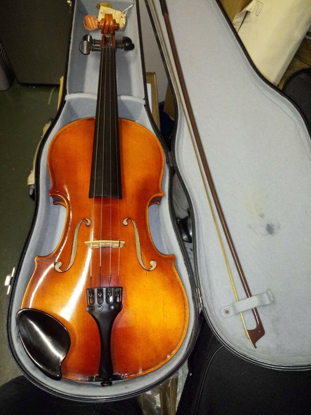 Roderich Paesold violin 1975 model 801