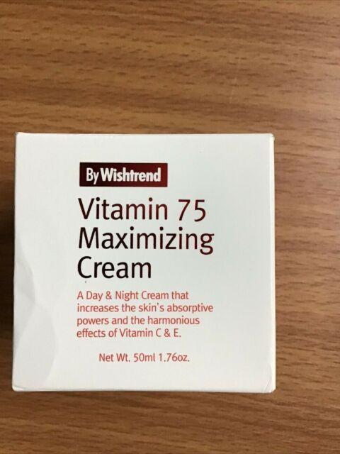 BY WISHTREND Vitamin 75 Maximizing Cream E 11/2020