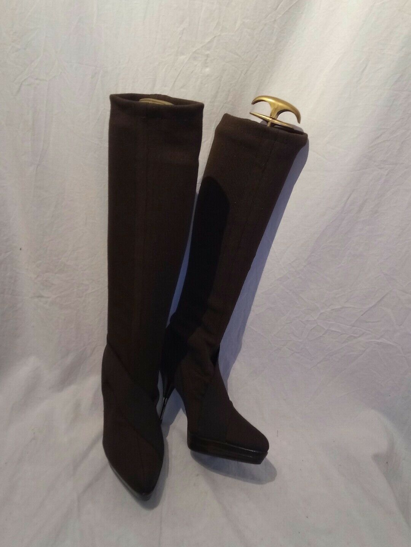 Stella Stiefel mccartney fabric ladies Braun Stiefel Stella uk 36.5 ref bag05 158599
