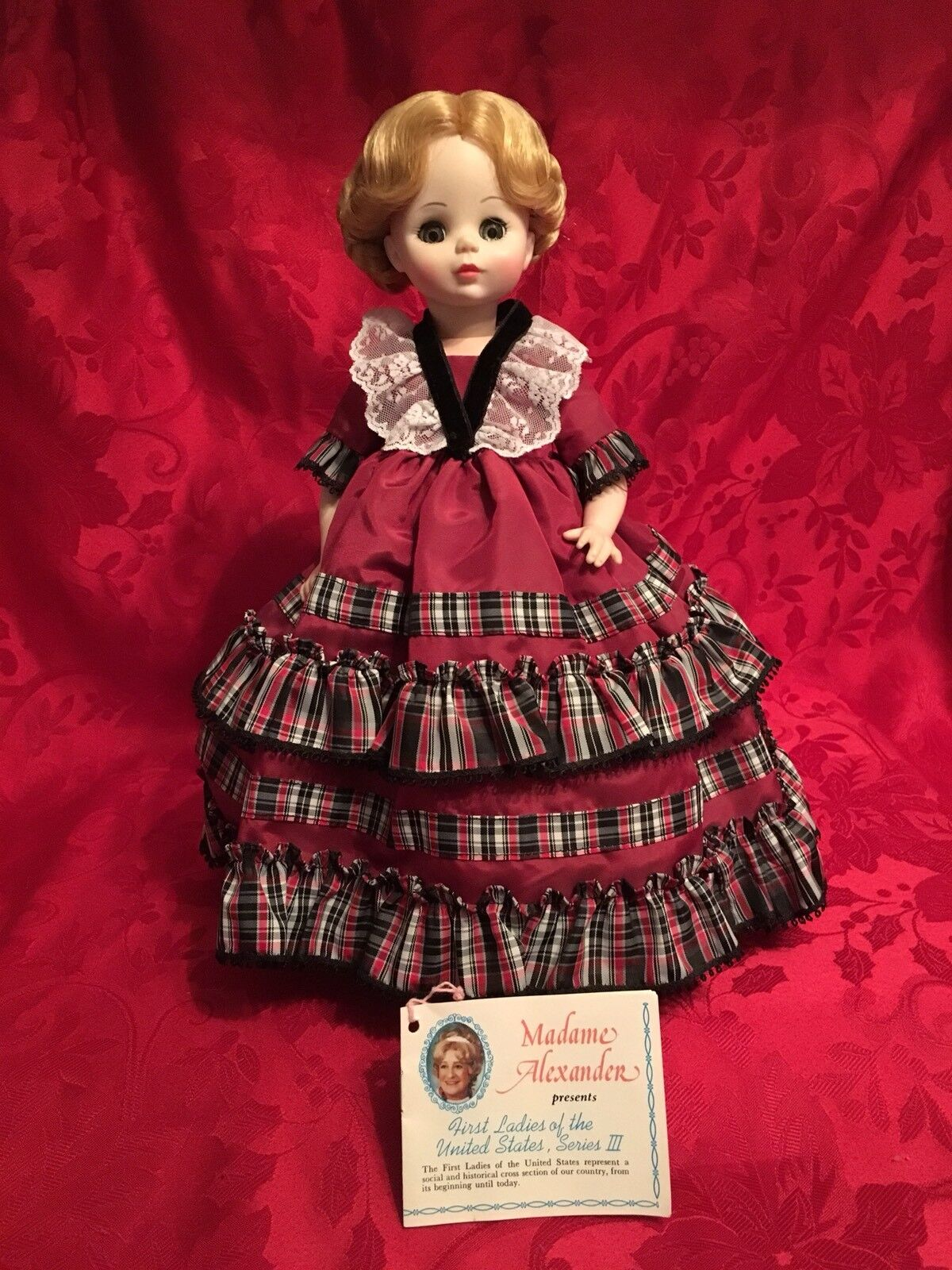 Madame Alexander Doll First Ladies Series II Betty Taylor Bliss