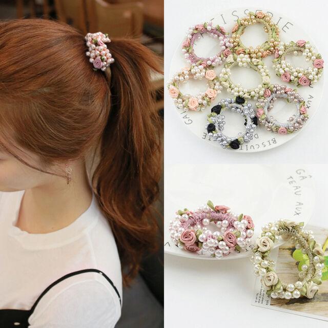 8Pcs Baby Girls Flower Headbands Photography Props Headband Accessories