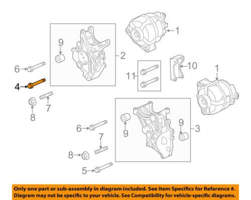GM OEM Front Seat-Recliner Bolt 11516109