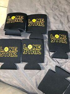 Lot Of 5 LONE STAR Beer Star Wars Koozie