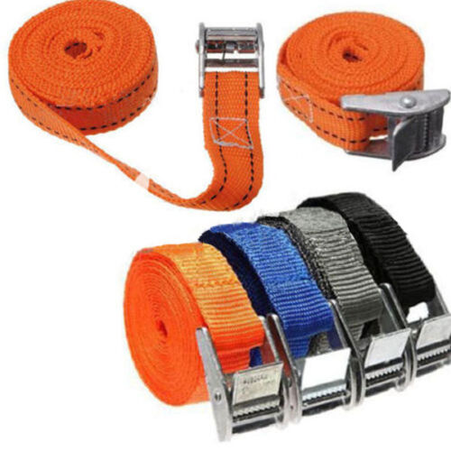 Buckled Straps 35mm Cam Buckle 2.5 meters Long Heavy Duty Load Securing UK