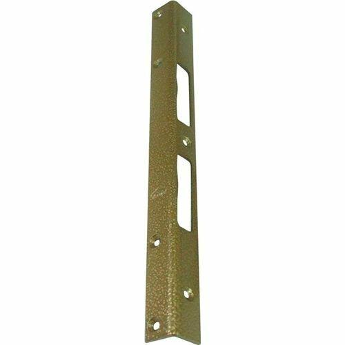 Schnegel Sicherheits-Winkelschließblech 300x25x25x3mm stark Stahl hell verzinkt
