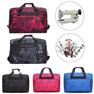 Sewing Organizer,Multi-Functional Sewing Tools Hand Bags Sewing Machine Carrying Cases Needlework Handbag Black,S Sewing Machine Bag,Large Capacity Travel Tote Bag,Sewing Machine Storage Bags
